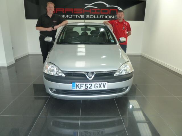 Mr Barker – Vauxhall Corsa