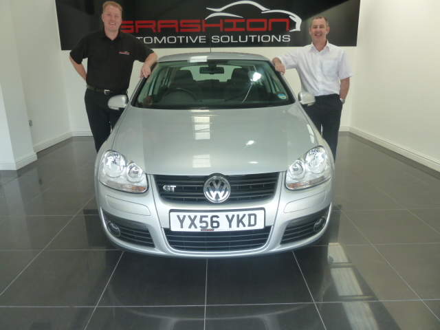 Mr & Mrs McNaught – VW Golf GT Tdi