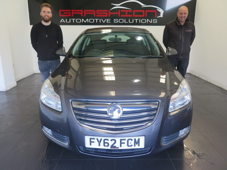 Mr Ashley Geoghegan – Vauxhall Insignia Exclusive Cdti 5dr – Doncaster