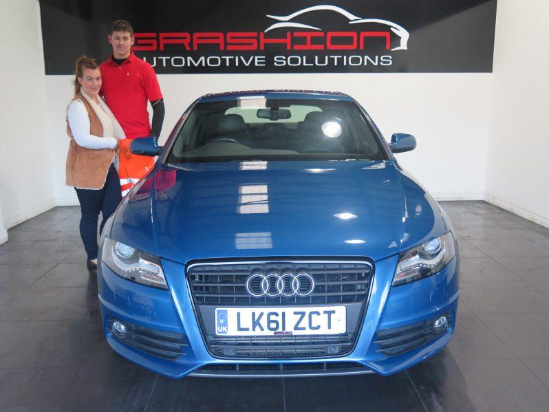 Mr Rhys Jenkinson – Audi A4 2.0 Tdi S-Line Black Edition – Doncaster