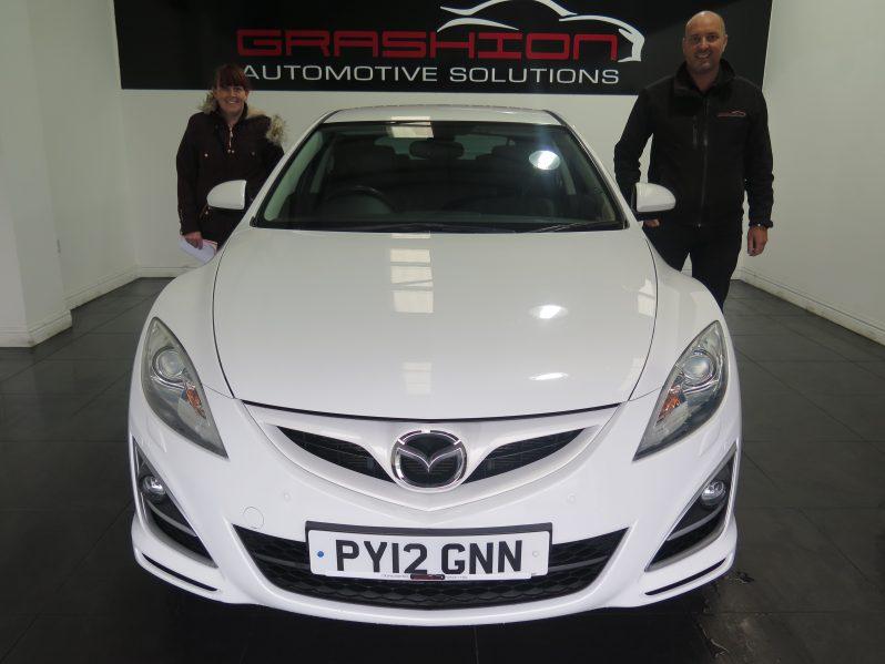 Mrs Kelley Rumney – Mazda 6 2.2D Sport 5dr – Doncaster