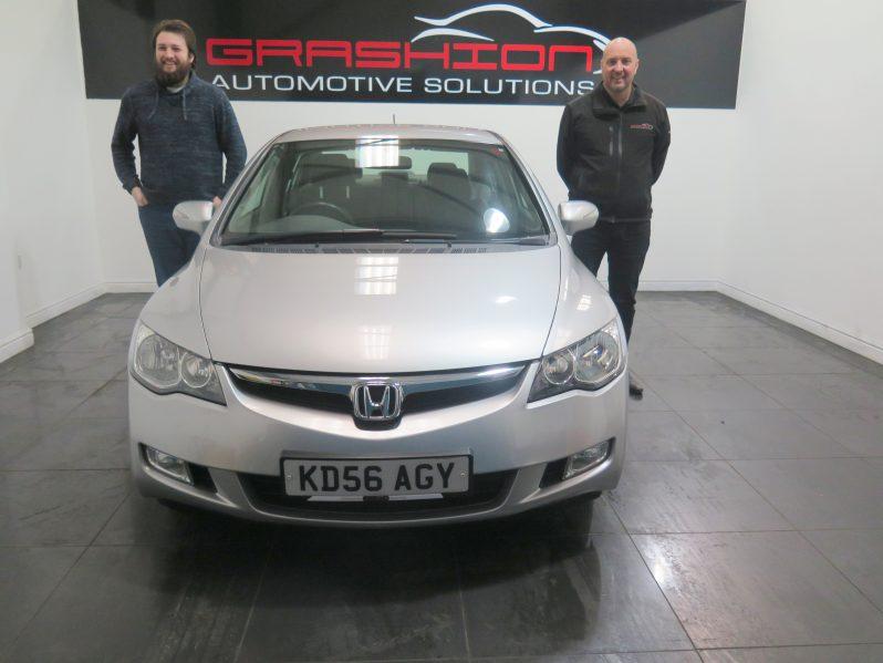 Mr Stephenson – Honda Civic 1.3 Hybrid SE-4dr