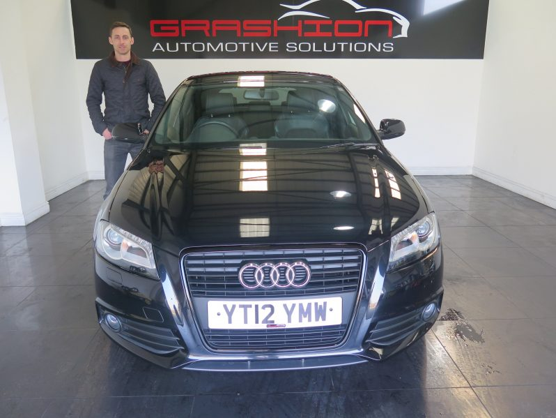 Mr French – Audi A3 2.0 Tdi S Line Black Edition 5dr – Devon