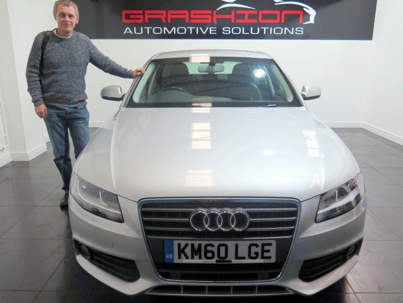 Mr Hargreaves – Audi A4 2.0Tdi SE 4dr – Barnsley