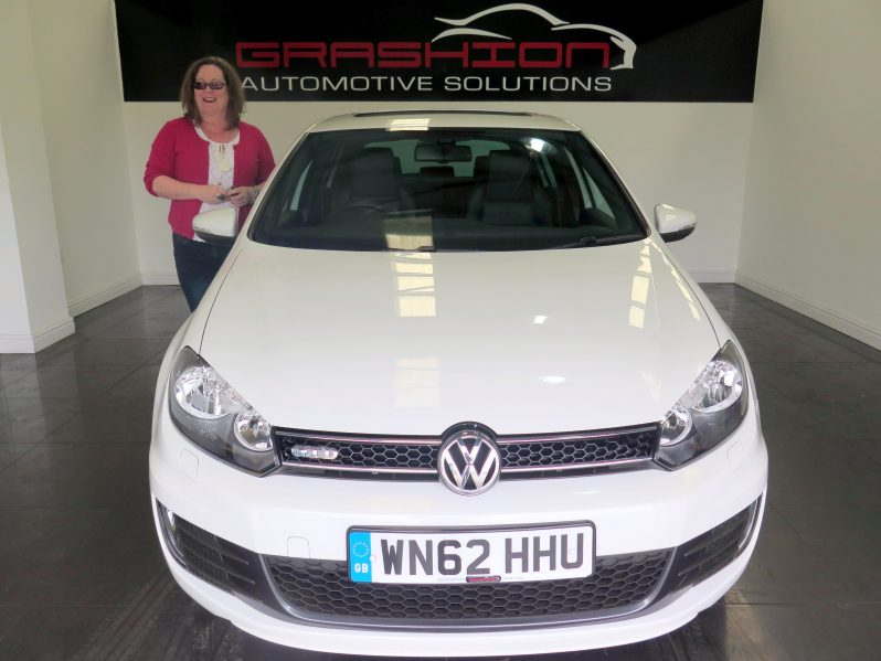 Mr and Mrs Kinrade – VW Golf 2.0GTD 5dr – Isle Of Man