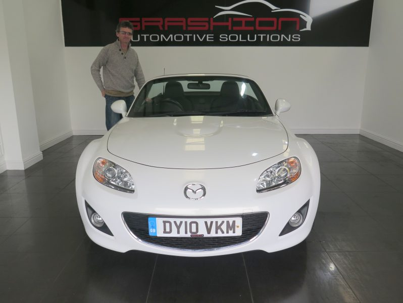Mr and Mrs McDonald – Mazda MX5 1.8 Anniversary Cabriolet – Scunthorpe