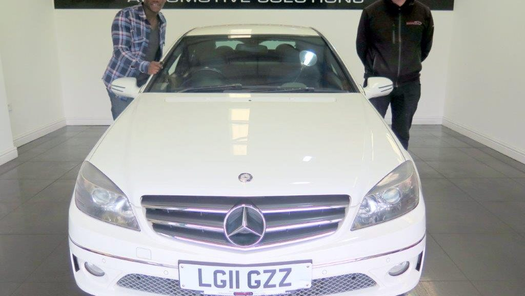 Mr Akintujoye - Mercedes CLC 1 6 Sport Coupe 3dr - London - GasCars
