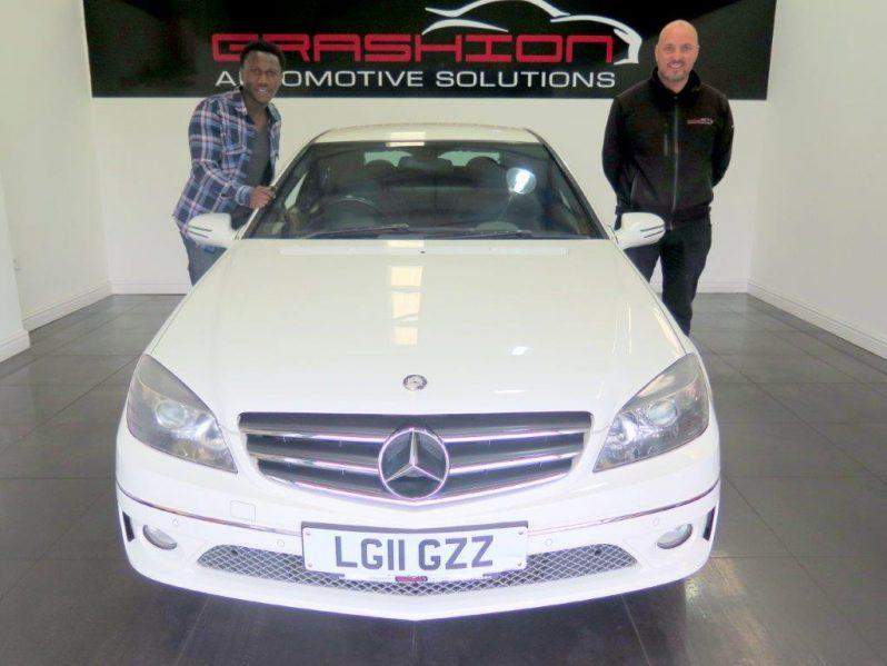 Mr Akintujoye – Mercedes CLC 1.6 Sport Coupe 3dr – London