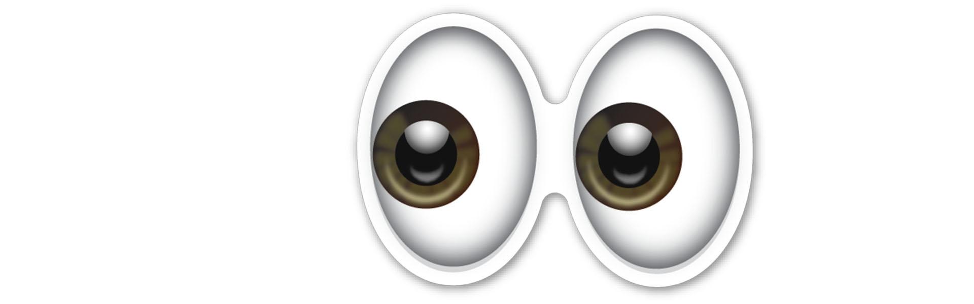 eyes emoji banner